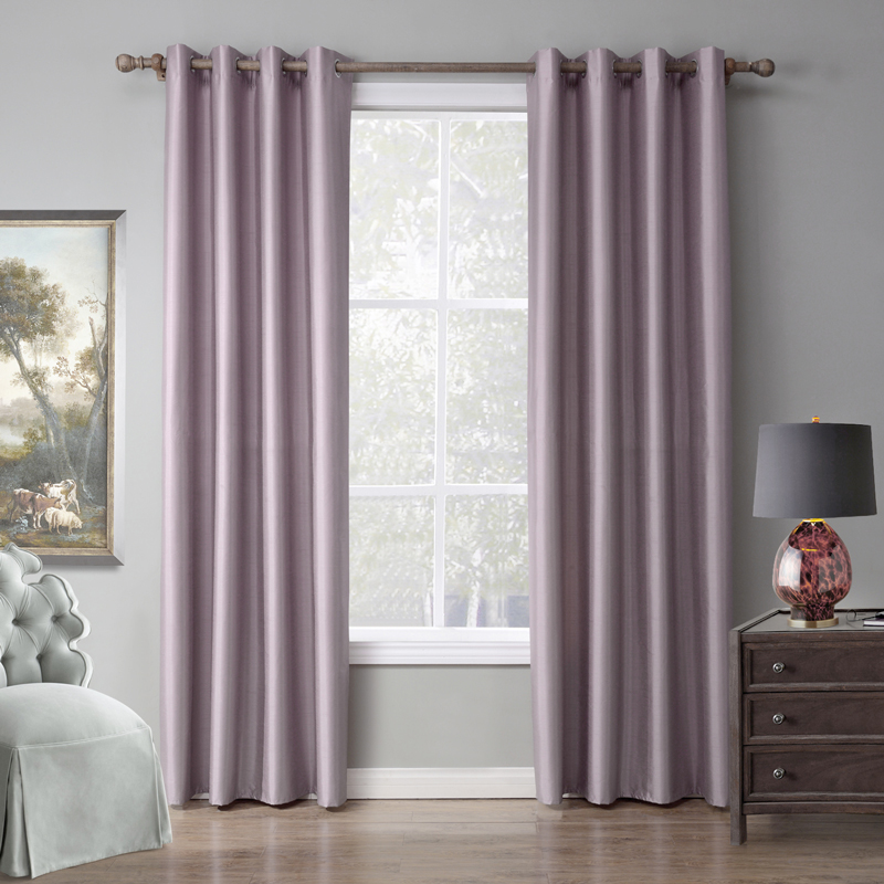 Blackout Curtain Window Curtains For Living Room Kitchen Curtains With Ring 1piece Free Shipping
