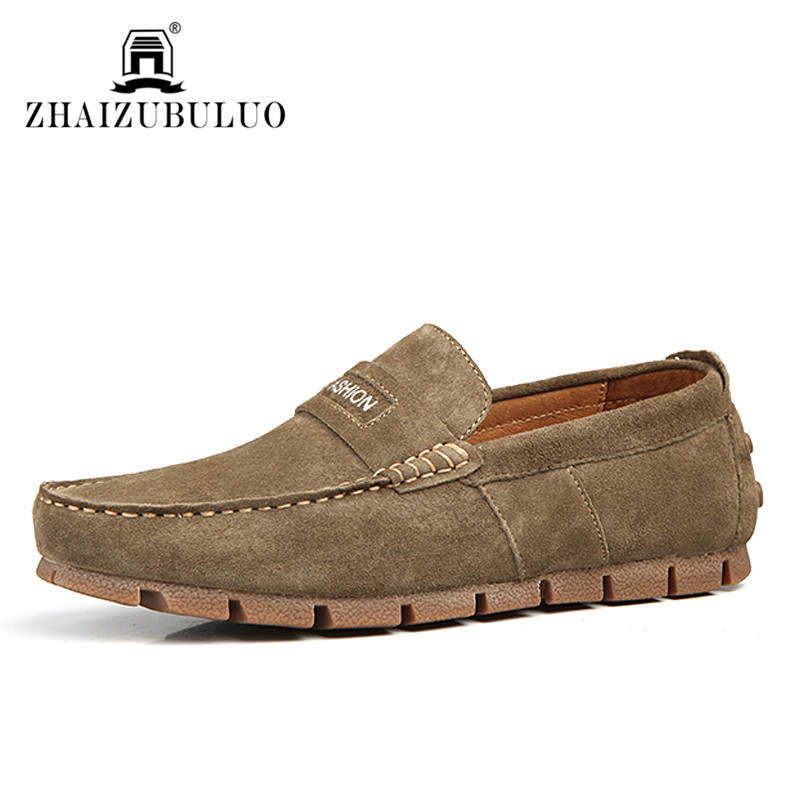 New Spring 2016 Men Loafers Handmade Genuine Leather Driving Shoes Comfortable Slip on Casual Flats Mocassins Shoes Sapatos<br><br>Aliexpress