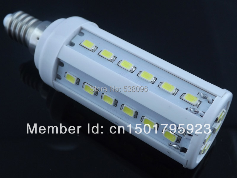NEW Hot E14 12W 1260LM 42 LED 5730 Warm White / Cool White LED Bulb Lamp 110V/220V/AC ( Free delivery / warranty 2 years )<br><br>Aliexpress