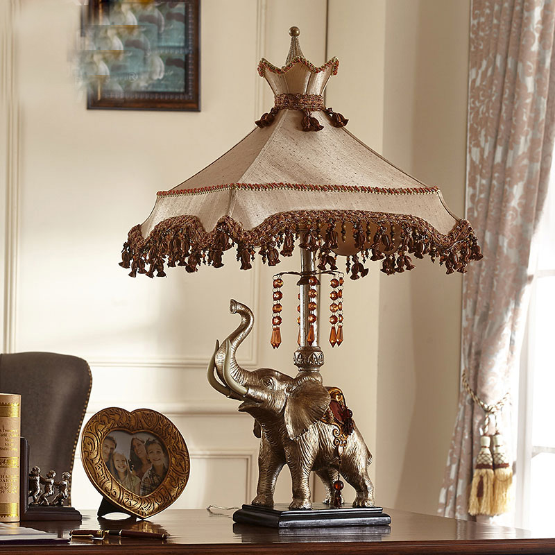 Achetez en gros lampe de table l phant en ligne des for Lampe de chevet haute