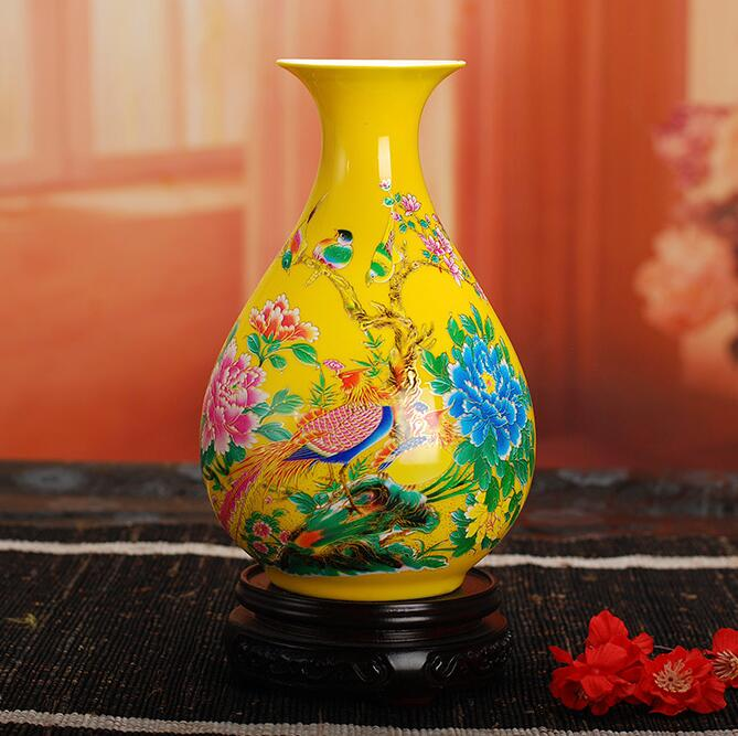 Home Decoration High Quality Chinese Antique Porcelain Vase/Classic Ceramic Vases Free Shipping(China (Mainland))