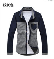 Men's Spring and autumn clothing ,Cotton Long Sleeve T-shirts, high quality T-shirt men  Free Shipping