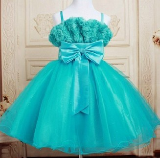retail 2014 Fashion children party dresses girls princess,Kids tutu ballet rose dress,girl wedding dress bow 3-10years - MixKelly Children Clothes Center store