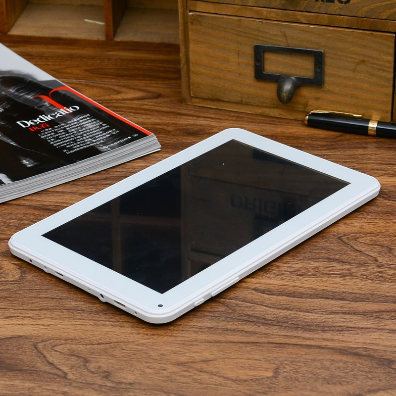 9 inch Quad core tablet pc Android 4.4 dual camera 1024*600 screen 5000mAh wifi flashlight HDMI plane table(China (Mainland))