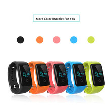 Fashion Bluetooth Smart Wristband V16 Fitness Sports Tracker Smartband Pulsera with Continuous Heart Rate Monitor
