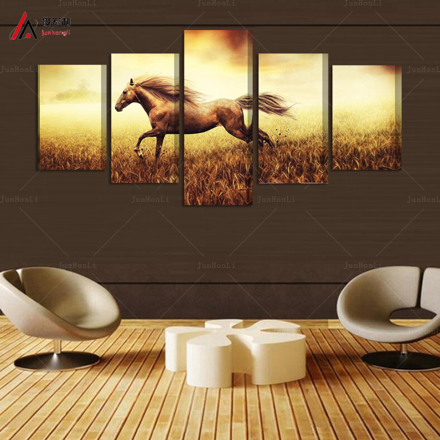 Popular Large Horse Paintings Buy Cheap Large Horse