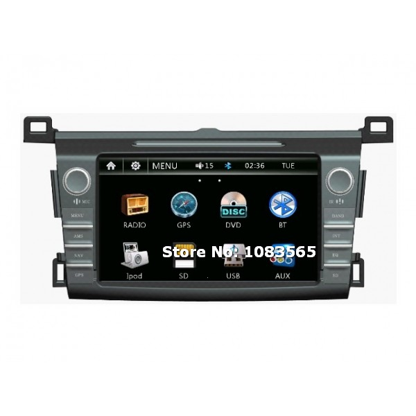 For Toyota RAV4 2013 - 2014 Car GPS Navigation DVD Player With Radio Bluetooth TV Advanced A5 System(China (Mainland))