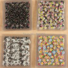 50 Sheets 3D Colorful Decal Stickers Nail Art Manicure Tips DIY Decoration hot sales 2015 New Free shipping(China (Mainland))