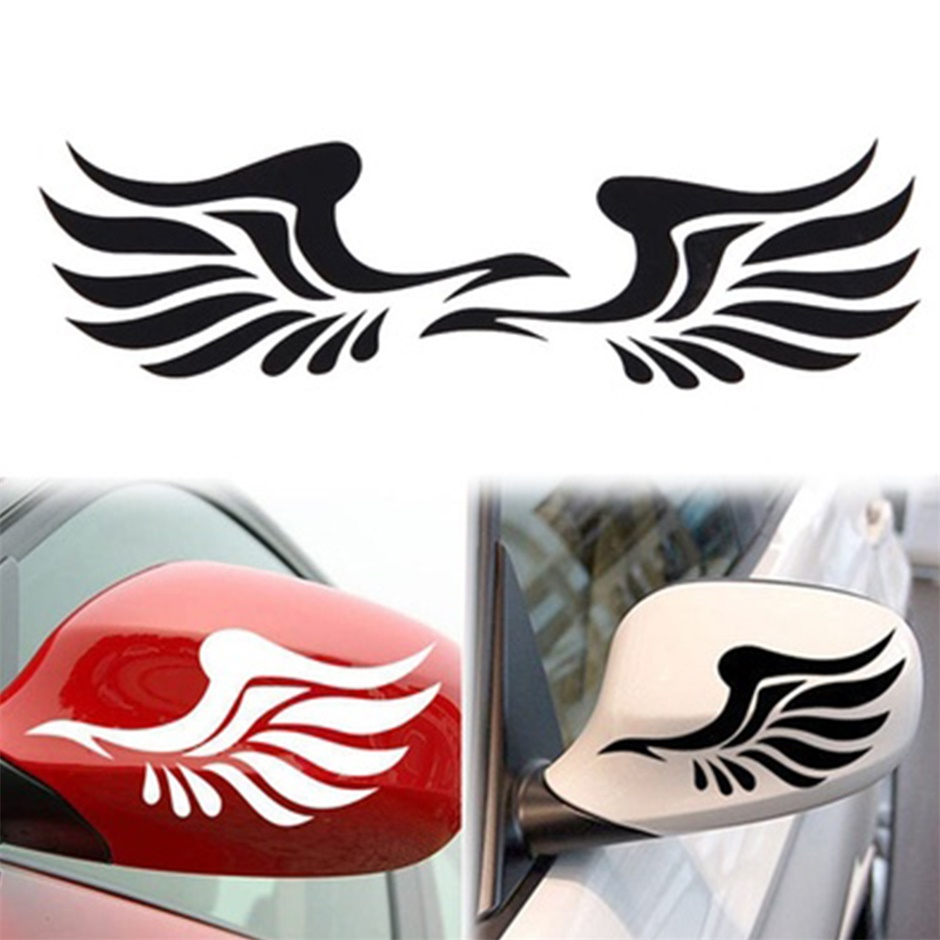 1 Pair Personality Fire Wings Side Mirror Car Stickers Decorative Stickers<br><br>Aliexpress
