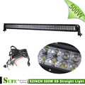 NEW 52 Inch 500W 4D Osran Led Light Bar Offroad Combo Beam Work Lamp 12v For