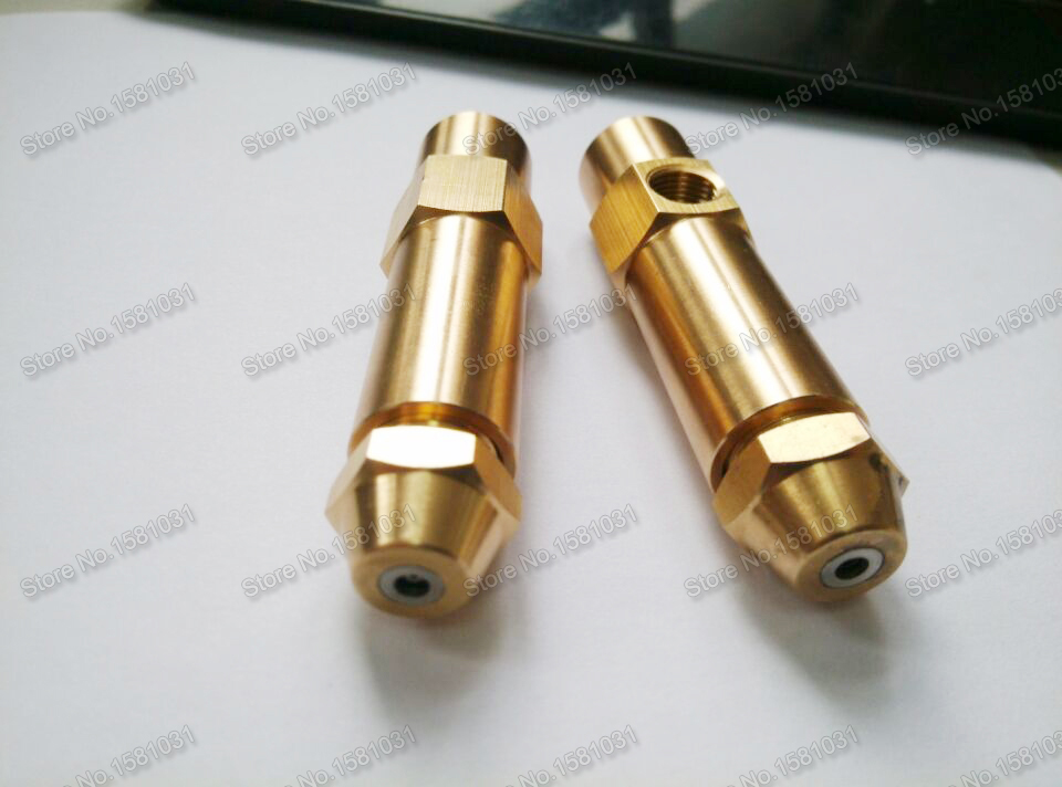 2.5mm air atomizing waste oil nozzle air atomizer spray nozzle waste oil burner nozzle(China (Mainland))