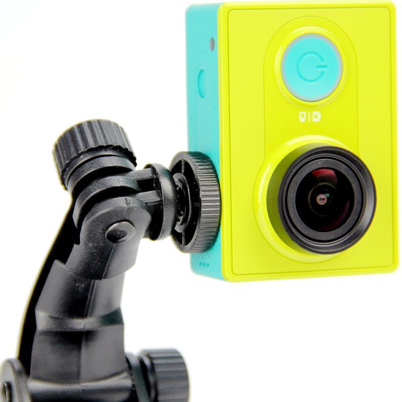Go pro Accessories adapter screw Mount Mini Tripod for Gopro Suction Cup Hero 4 3+2 1 SJ4000 Xiaomi yi Camera GP60 Free shipping