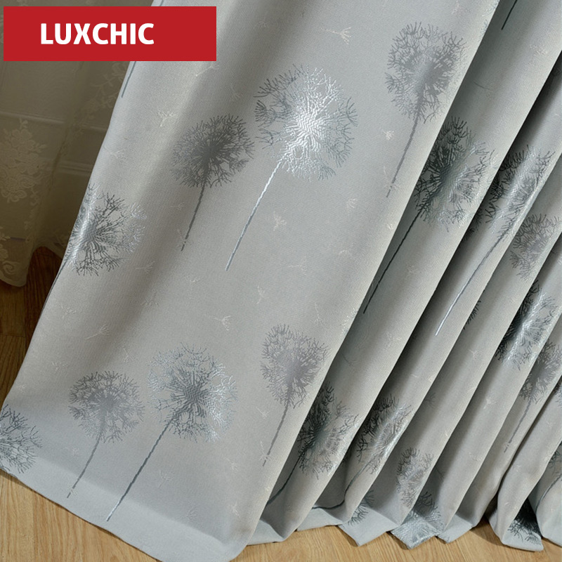 Luxchic ST4 Window Curtains For living Room/ Bedroom Blackout Curtains Window Treatment /drapes Home Decor Free Shipping(China (Mainland))
