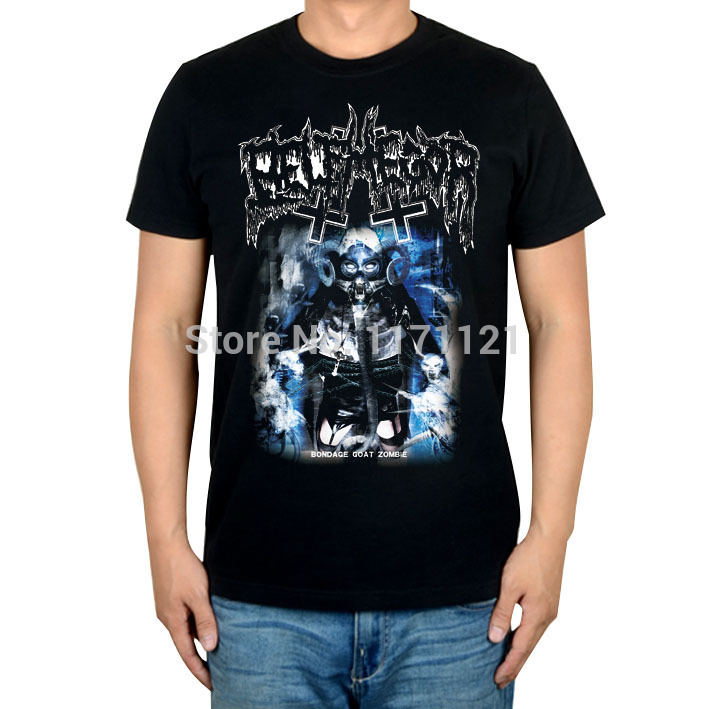 belphegor Bondage Goat Zombie  ablum  black death metal black t-shirtОдежда и ак�е��уары<br><br><br>Aliexpress