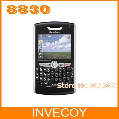 8830 original BlackBerry 8830 unlocked mobile phone GPS QWERTY freeship(China (Mainland))