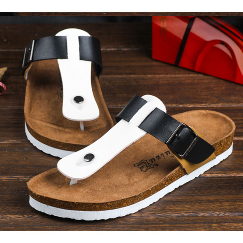 CoolFar Plus size 4-12 shoes men and woman sandals Cork slippers fashion  Casual Slippers summer style flip flop free shipping<br><br>Aliexpress