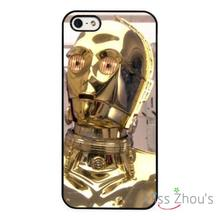 Star Wars Robot R2D2 back skins mobile cellphone cases cover for iphone 4/4s 5/5s 5c SE 6/6s plus ipod touch 4/5/6