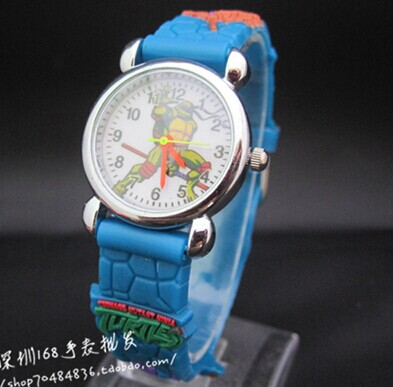 NEW Cartoon 3D Children Watch Good Gift kids Teenage mutant ninja turtles watch - Babi Fu's store