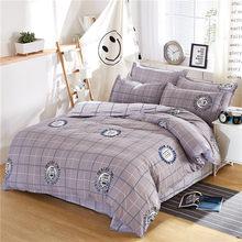 2019 New sheet, pillwocase& Duvet Cover Set WHALE Bedding Set Pinetree Bed Set Black White Bed Linen Set Wholesale Home Bedding(China)