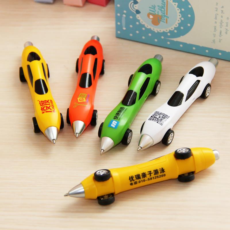 Korean Stationery creative Mini car models ballpoint pen promotional gifts customized logo office&school supplies wholesale pen(China (Mainland))