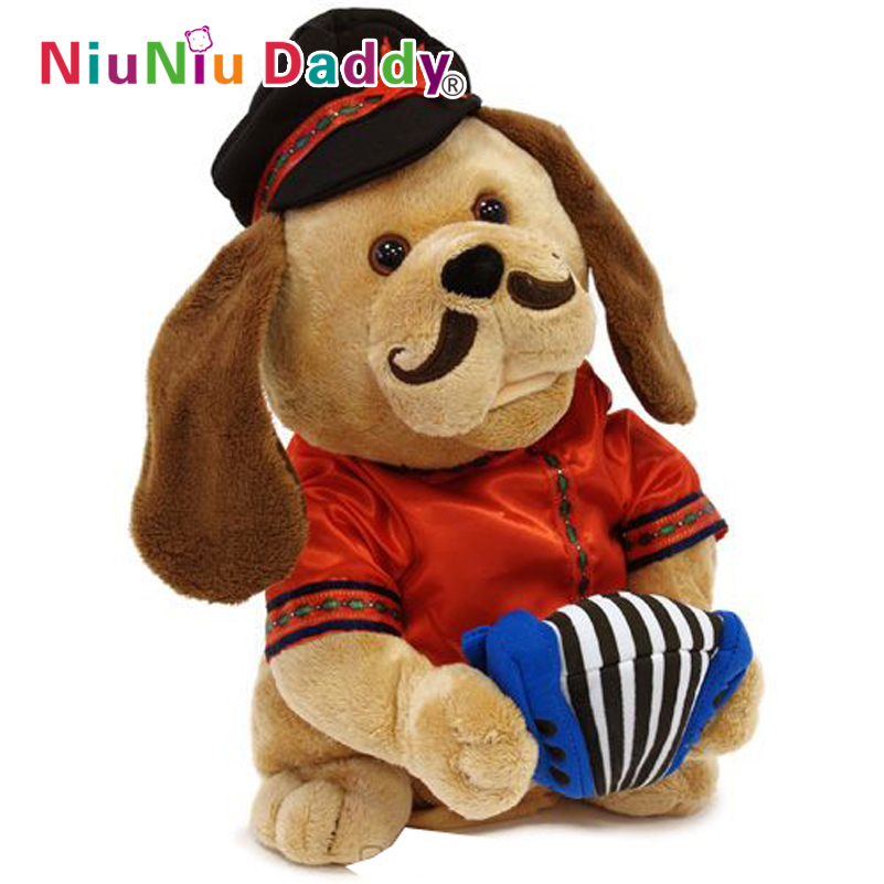 doggie Lovelace toy will sing and dance Electronic dog Interactive toys(China (Mainland))