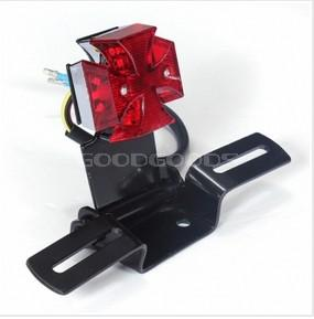 Brand New Motorcycle Tail Lights 12V Led Tail Light Lamp Fit For Harley Chopper Bobber(China (Mainland))