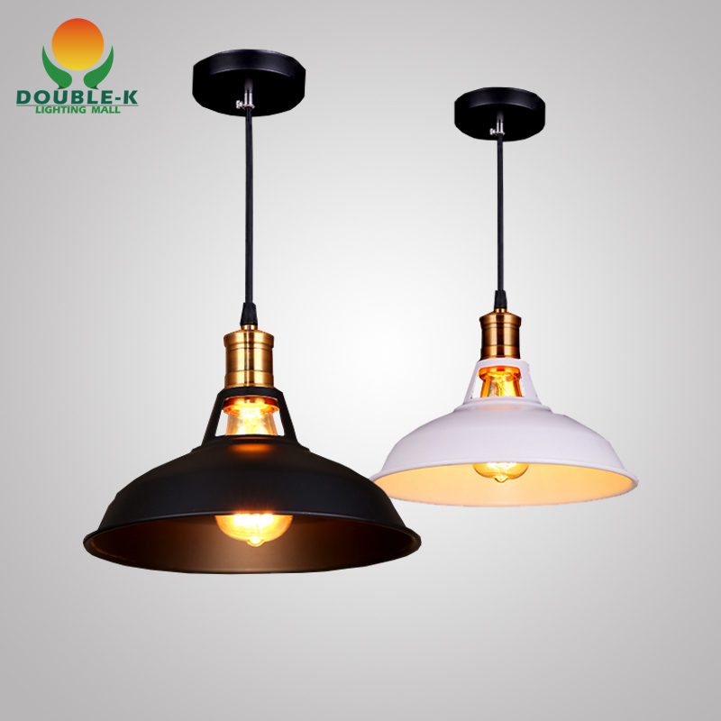 Free Shipping Rustic Aluminum Painting American Style Edison Bulb Loft Vintage Pendant Lights Lamps With 1 Light(F750)(China (Mainland))