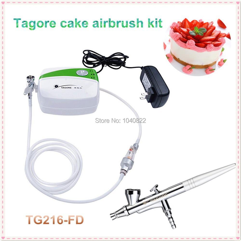 Brand Tagore TG216-FD Cake Airbrush and Compressor Cake art Air Compressor<br><br>Aliexpress
