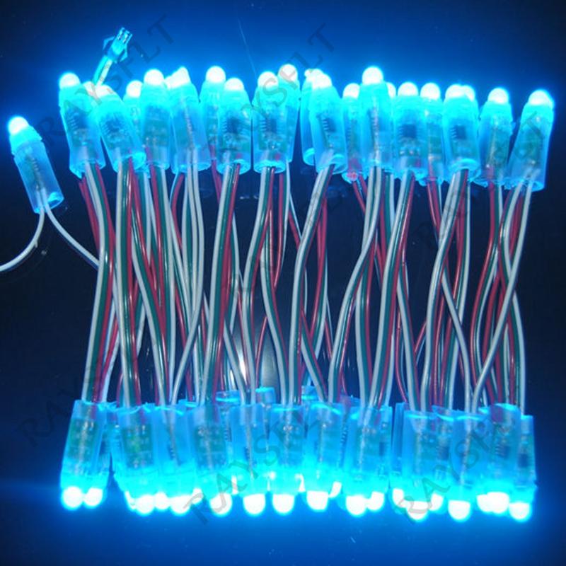 Гаджет  Full color high brightness 12mm DC5V LED Pixel Module WS2811 IC Pixel Node LED Exposed Light String led display module None Свет и освещение