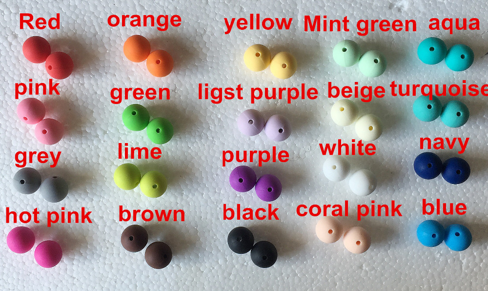 Food Grade Silicone Teeth Beads DIY Necklaces Baby Bracelets Babies Chewing Jewelry Teethers Necklaces Mom Jewelry 100pcs/lot(China (Mainland))