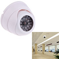 Factory Wholesale Dummy Fake IP Surveillance Security Dome Camera w 30 Flashing LED Light Free Shipping