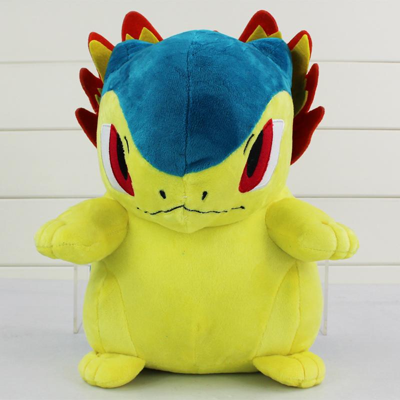 EMS 50pcs/lot 30cm Pokemon Typhlosion Plush Toy Soft Stuffed Plush Animals Doll Pokemon Plush Toy Free shipping<br><br>Aliexpress