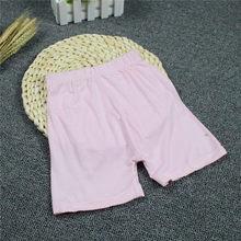 Wysokiej jakości dziewczyna bezpieczeństwa solidne spodnie bielizna miękkie elastyczne bawełniane legginsy dziewczyny koronki majtki krótkie spodnie dla dzieci(China)