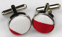 SNT0092 2014 Red white Striped Smooth Classic Silk Neck Tie Fashion Casual Knitted Tie Necktie Cufflinks