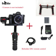 Free EMS DHL Beholder DS1 3-Axis Handhled Gimbal Stabilzier Support Canon 5D 6D 7D DSLR VS MS1 Nebula 4000 lite Free Gifts