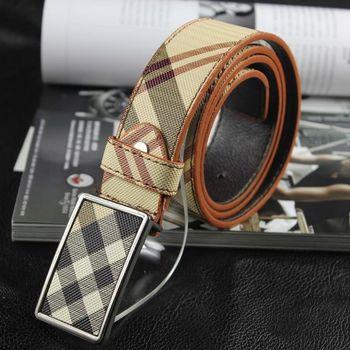 Men's Waistband Casual Luxury Leather Automatic Buckle Belt Waist Strap Belts for Women Unisex Ceinture Homme