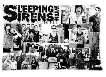 Florida Rock Band Sleeping With Sirens Pictures Decorate Rectangl Pillow Cases 100% Cotton High Quality Standard Size40X60cm'(China (Mainland))