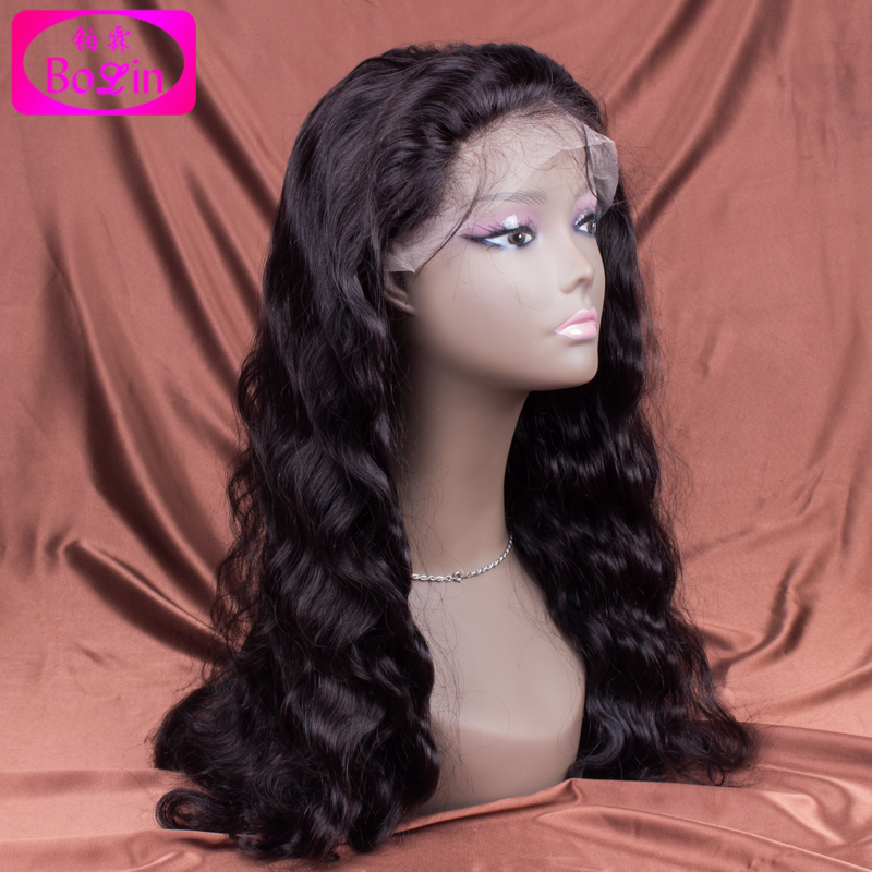 Full Lace Human Hair Wigs For Black Women Peruvian Body Wave Full Lace Wig Virgin Hair Glueless Lace Front Human Hair Wigs