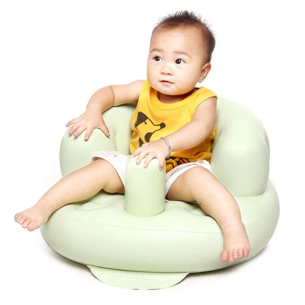 Inflatable baby chair bath room stools portable children for Toddler sitting chair