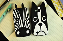 For Samsung Galaxy Premier i9260 case Dog zebra soft silicon phone back case cover for For Samsung Galaxy Premier i9260(China (Mainland))