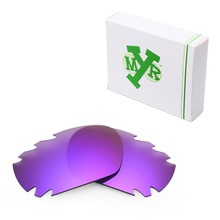 MRY POLARIZED Replacement Lenses for Oakley Jawbone Vented Sunglasses Plasma Purple