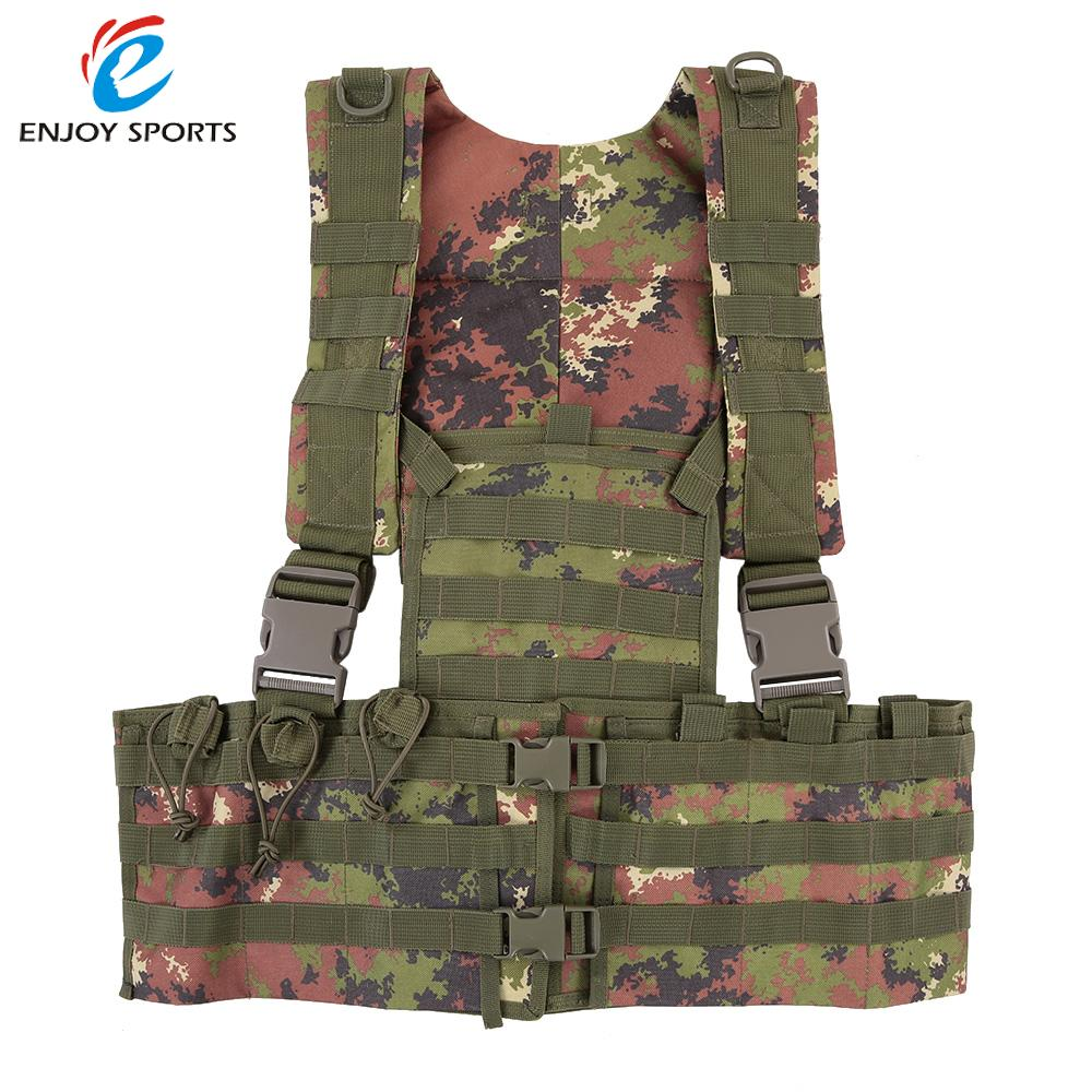 Military Tactical Modular Chest Rig Hunting Vests Hunting Style Carrier Vest CS Paintball Airsoft Vest Armor(China (Mainland))