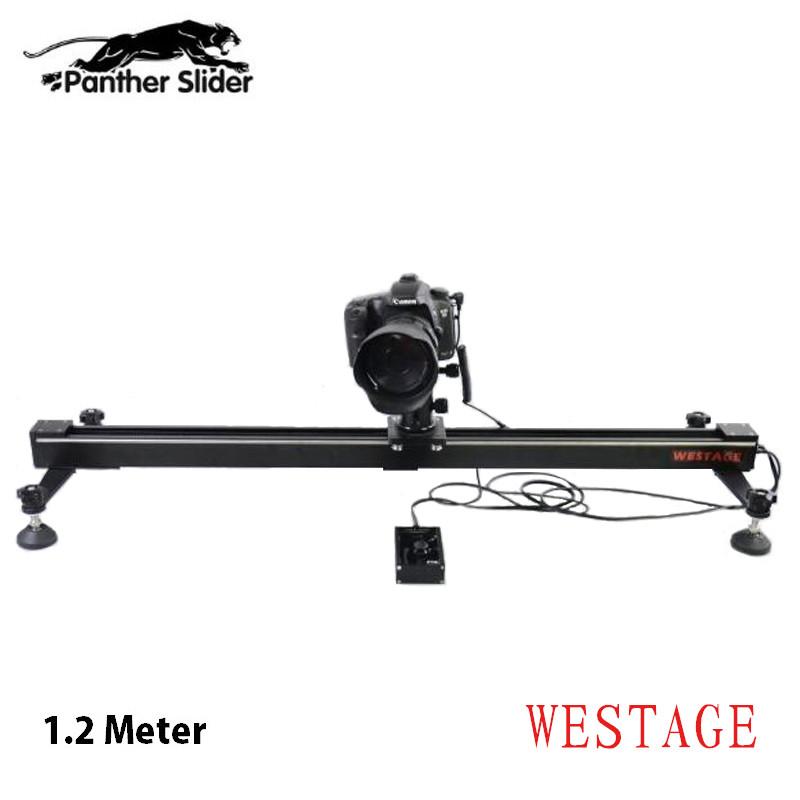 WESTAGE Panther Electric Control Camera Slider 1.2m of Length for DSLR Camera DV Camera<br><br>Aliexpress