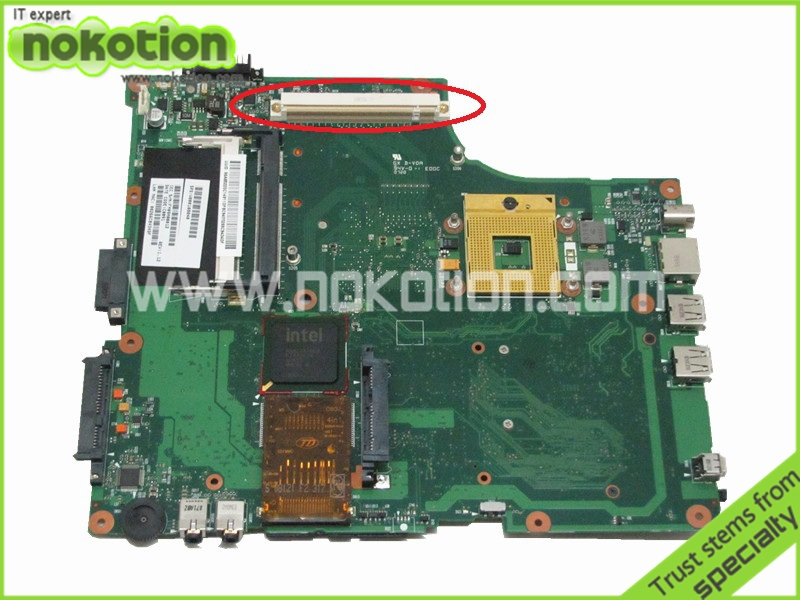 V000108040 Laptop motherboard For Toshiba Satellite A205 A200 Main board 945pm DDR2 with Graphics card slot(China (Mainland))