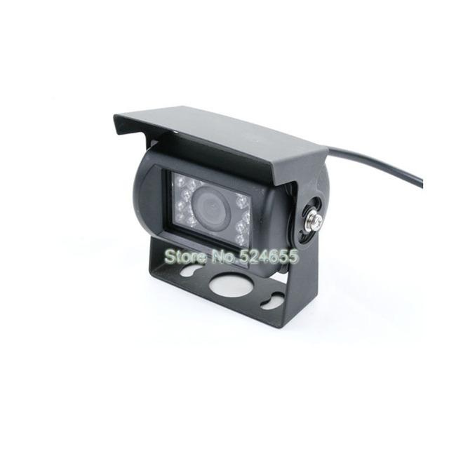 Free shipping 12V~24V bus car camera truck Rear view back up hd car camera  parking camera mini gulde lane