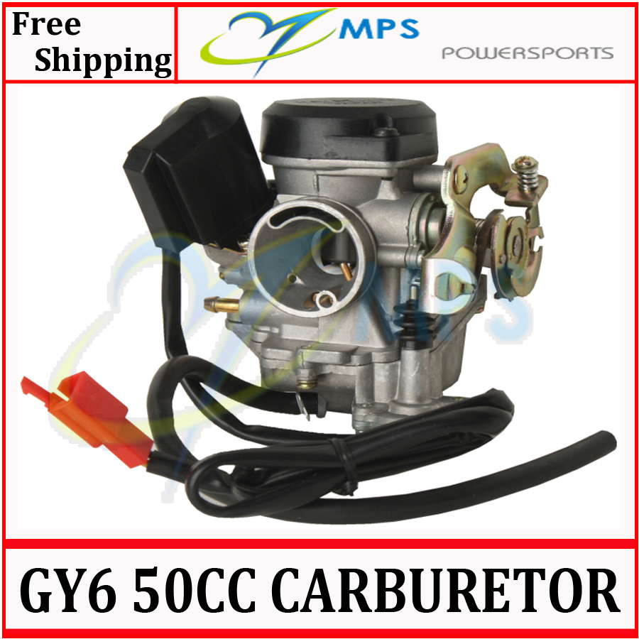 GY6 Scooter engine parts PD19J 19mm bore Carburetor for 50cc 60cc 80cc 100cc 4T 139QMB engine