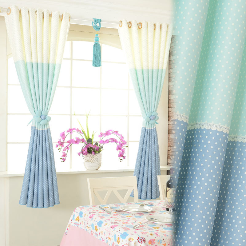grade short half curtain finished fabrics custom blackout curtains ...