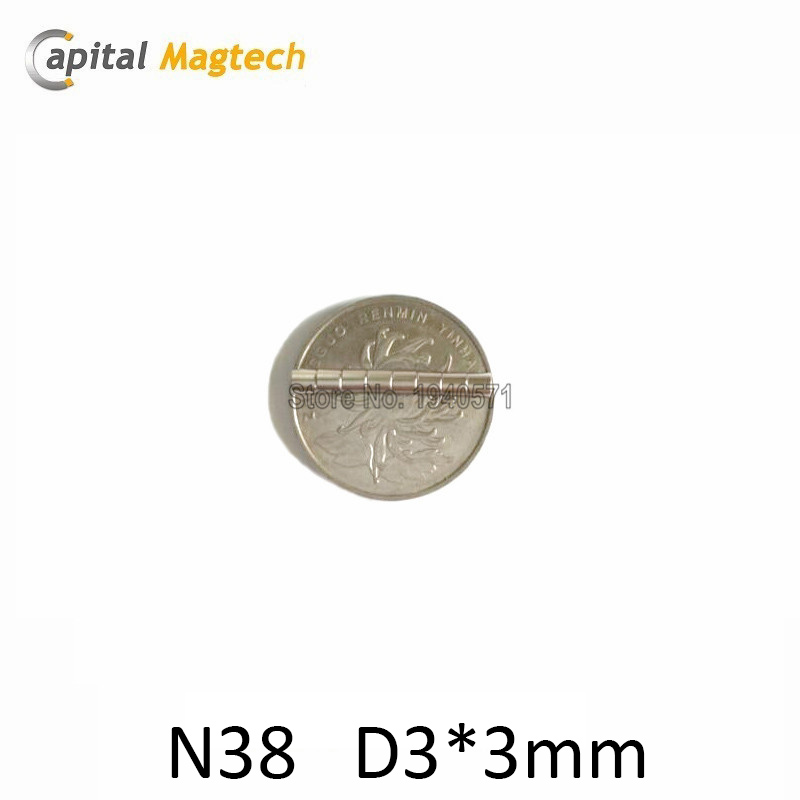 500pcs Round Disc D3.5*3.5mm N35 Super Strong Rare Earth Neoydmium Magnet with free shipping<br><br>Aliexpress