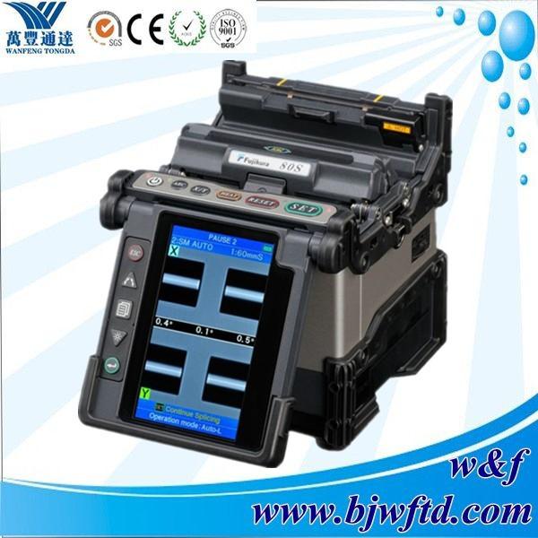 FTTH optical fiber Fujikura FSM-80S fiber optic splicing machine fusion splicer(China (Mainland))