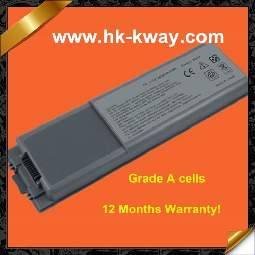 Free shipping! 9 cells 7800MAH Laptop battery bateria for DELL Inspiron 8500 8600 8600M D800 M60 8N544 BAT1297 W2391 KB6066